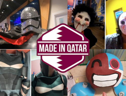 Made in Qatar Costume